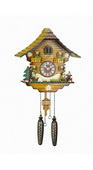 18in German Hermle Deluxe Cuckoo Clock Quartz - JHE2647