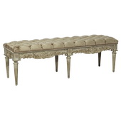 Aqua Pear Accent Bench by Pulaski - JPK3496