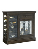 Aqua Pear Wine Console in Hillsville Finish by Pulaski - JPK3516
