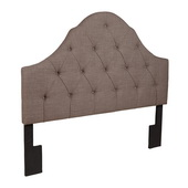 Aqua Pear Deluxe Softex Slate King/Cal King Upholstered Headboard by Pulaski - JPK4042