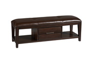 Aqua Pear Sable Deluxe Bench by Pulaski - JPK4074