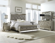 Aqua Pear Farrah King Bed by Pulaski - JPK5048