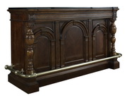 Pulaski Deluxe Luxury Wooden Bar Traditional Style Dark Rich Finish - JPK3934