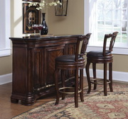 Aqua Pear Tuscan Wooden Bar by Pulaski - JPK3938