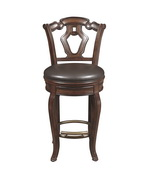 Aqua Pear Deluxe Tuscan Wooden Bar Stool  JPK3940