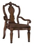Pulaski San Mateo Carved Back Arm Chair - JPK4616