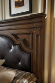 Aqua Pear Durango Ridge Deluxe King/Cal King Headboard by Pulaski - JPK4150