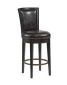Aqua Pear Luxury Deluxe Wooden Barstool by Pulaski - JPK3960