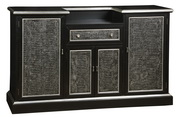Aqua Pear Deluxe Bar Cabinet by Pulaski - JPK3736