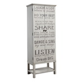 Aqua Pear Wine Cabinet by Pulaski - JPK3808