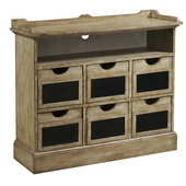 Aqua Pear Deluxe Accent Chest  JPK3812