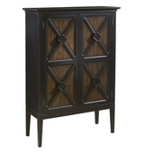 Aqua Pear Deluxe Accent Cabinet with Wine Storage by Pulaski - JPK3816
