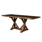 Pulaski American Attitude X Pattern Gatherng Table W/saw Horsetable Base  (table Only) - JPK5276