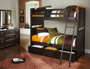 Pulaski Clubhouse Twin Bunk Bed w/Trundle Storage Unit - JPK5732