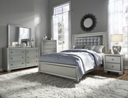 Aqua Pear Celestial Deluxe Cal King Upholstered Bed  JPK5434