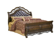 Aqua Pear Birkhaven Queen Bed by Pulaski - JPK5008