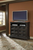 Aqua Pear Brookfield Deluxe Media Chest by Pulaski - JPK4442