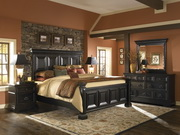 Pulaski Brookfield King Bed - JPK5016
