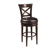 Aqua Pear Classic Deluxe Wooden Bar Stool by Pulaski - JPK3990