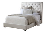 Aqua Pear Deluxe Contemp Shelter Queen Upholstery Headboard  JPK3326