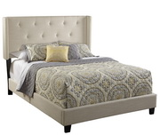 Pulaski All-N-One Fully Upholstered Shelter Queen Bed - JPK3330