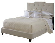 Aqua Pear Deluxe All-N-One Fully Upholstered High Back Queen Bed by Pulaski - JPK3331