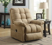 Aqua Pear Repose Deluxe Lift Chair Buckskin Stone by Pulaski - JPK3339