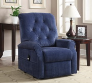Aqua Pear Prima Deluxe Lift Chair Terry Ocean by Pulaski - JPK3341