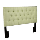 Aqua Pear Deluxe Tuxedo Lime Full/Queen Upholstery Headboard  JPK3415