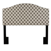 Aqua Pear Deluxe Nopon Grey King/Cal King Upholstery Headboard by Pulaski - JPK3420