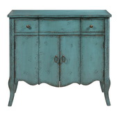 Aqua Pear Deluxe Accent Chest  JPK3876