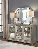 Aqua Pear Couture Sideboard (mirror Not Included) by Pulaski - JPK5858