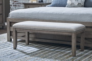 Aqua Pear Prospect Hill Deluxe Bench by Pulaski - JPK5990