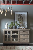 Aqua Pear Flatbush Console/server by Pulaski - JPK6016