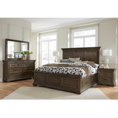 Pulaski Camden Queen Panel Bed W/out Slats - JPK5412