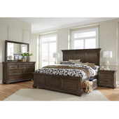 Pulaski Camden Queen Panel Bed W/ Slats - JPK5414