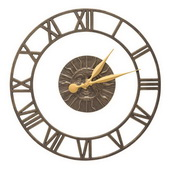 21in Indoor Outdoor Wall Clock - JWH1240