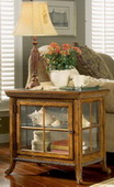 Butler Elegant Oak Chair Side Curio