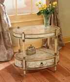 Designer Oval Accent Table - KBT1555