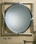 Kagami Brushed Nickel Mirror  - LUT4704