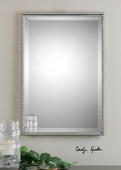 Sherise Brushed Nickel Mirror  - LUT6402