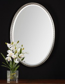 Casalina Nickel Oval Mirror  - LUT6404