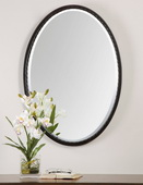 Casalina Oil Rubbed Bronze Oval Mirror  - LUT6406