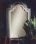 Ribbed Arch Antique Mirror  - LUT4730