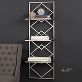 Silvia Silver Wall Shelf