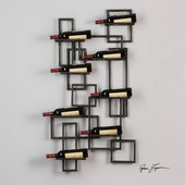 Scheldt Wall Wine Rack