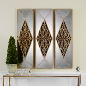 Serrano Mirrored Wall Art - LUT4701
