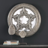 Marwin Round Window Mirror - LUT4721
