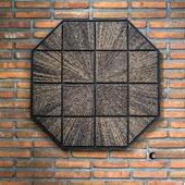 Bursting Forth Octagonal Wall Art - LUT4727