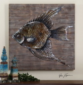 Iron Fish Wall Art  - LUT7544